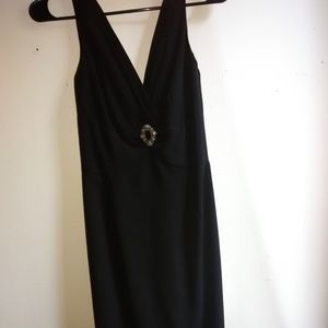 NWT Morgan and Co black dress.  Size 3/4